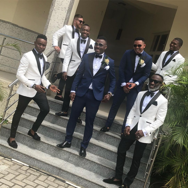 Emmanuel emenike and iheoma nnadi white wedding photos-4