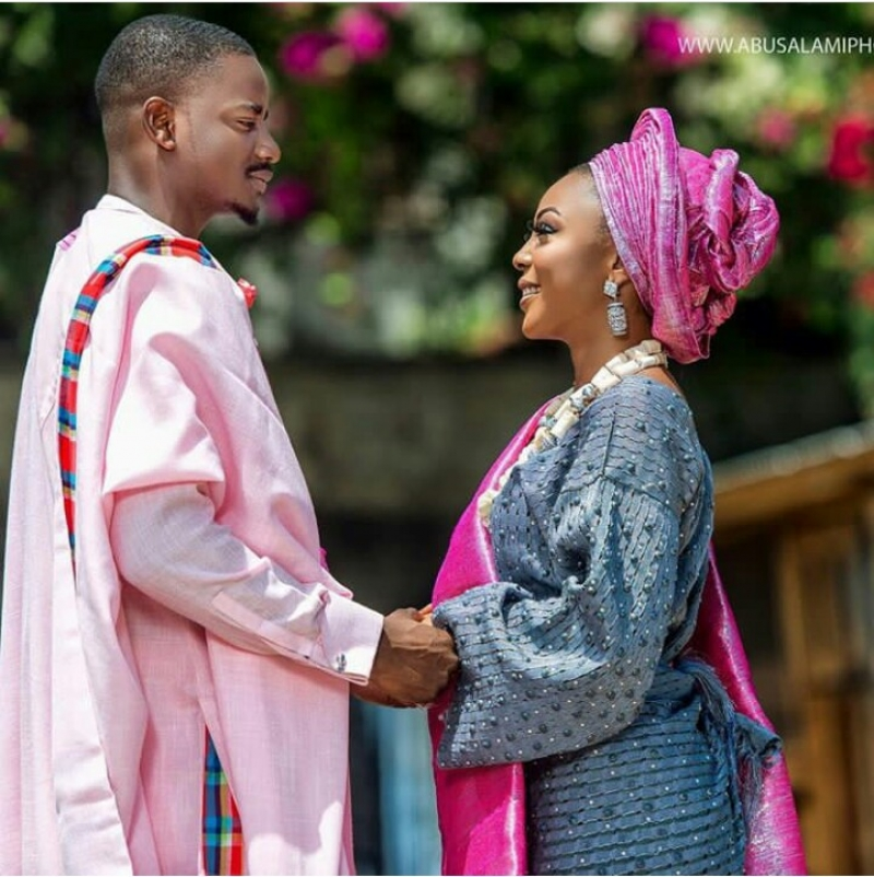 Former bbnaija housemates leo dasilva and ifu ennada in wedding photoshoot-4