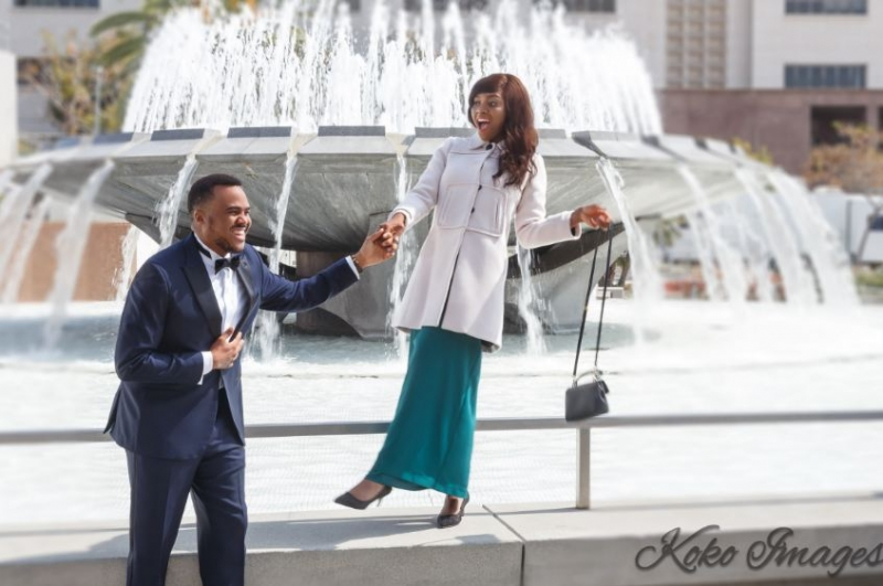 Michael okon and kosi obialor in pre-wedding photos-7