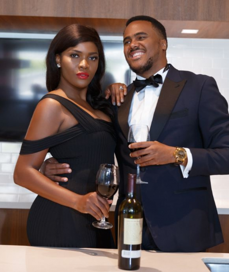 Michael okon and kosi obialor in pre-wedding photos