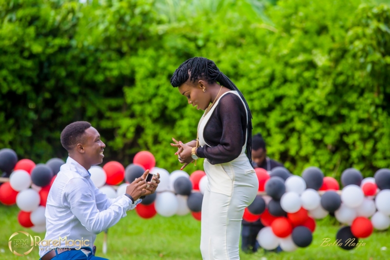 Ifeoluwapo proposes to olabanke with adorable puppies-2