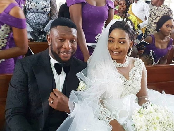 Nollywood Actor TChidi Chikere Weds His Long-time Girlfriend Nuella Njubigbo