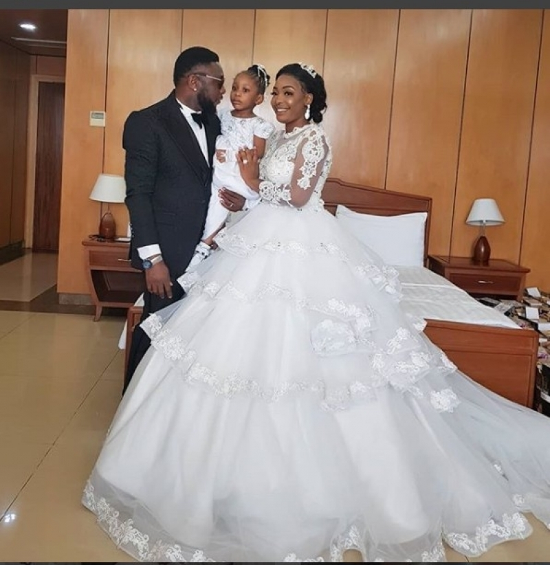 Nollywood actor tchidi chikere weds his long-time girlfriend nuella njubigbo-2