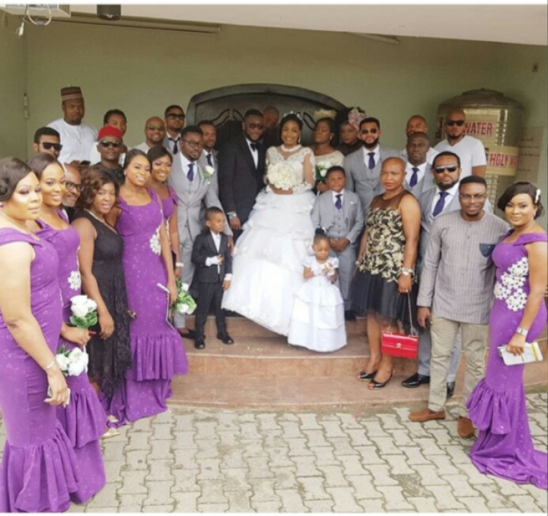 Nollywood actor tchidi chikere weds his long-time girlfriend nuella njubigbo-3