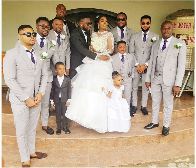 Nollywood actor tchidi chikere weds his long-time girlfriend nuella njubigbo-7
