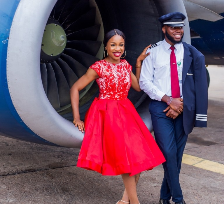 Pre-Wedding Photos Of Kennedy And Maureen