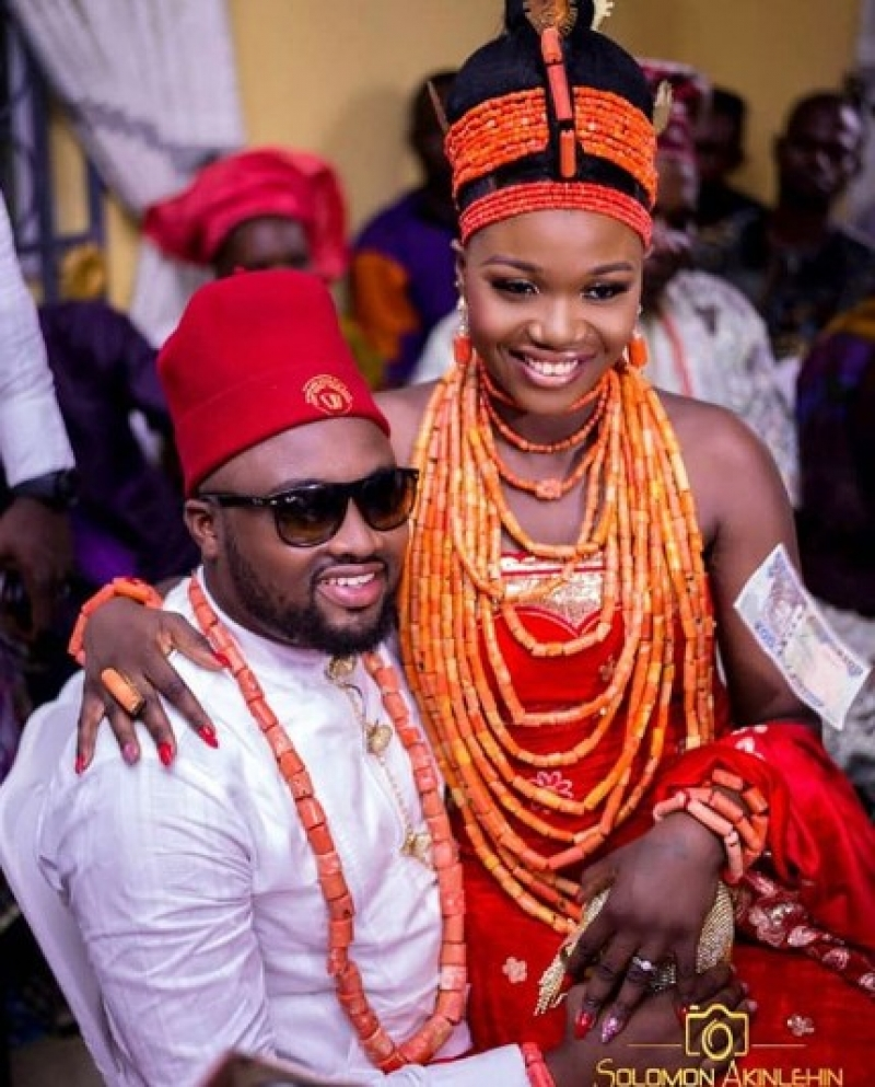 Traditional wedding between nollywood actor chuks omalicha and philomena