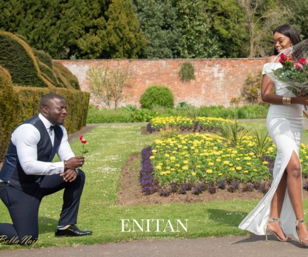 Photoshoot Turned Proposal! Ade Proposes To Cura