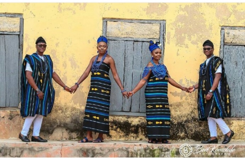 Pre-wedding photos of twin brothers with their bestie brides-2