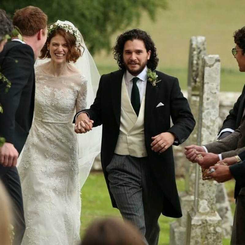 Game of thrones stars kit harington and rose leslie gets married-7