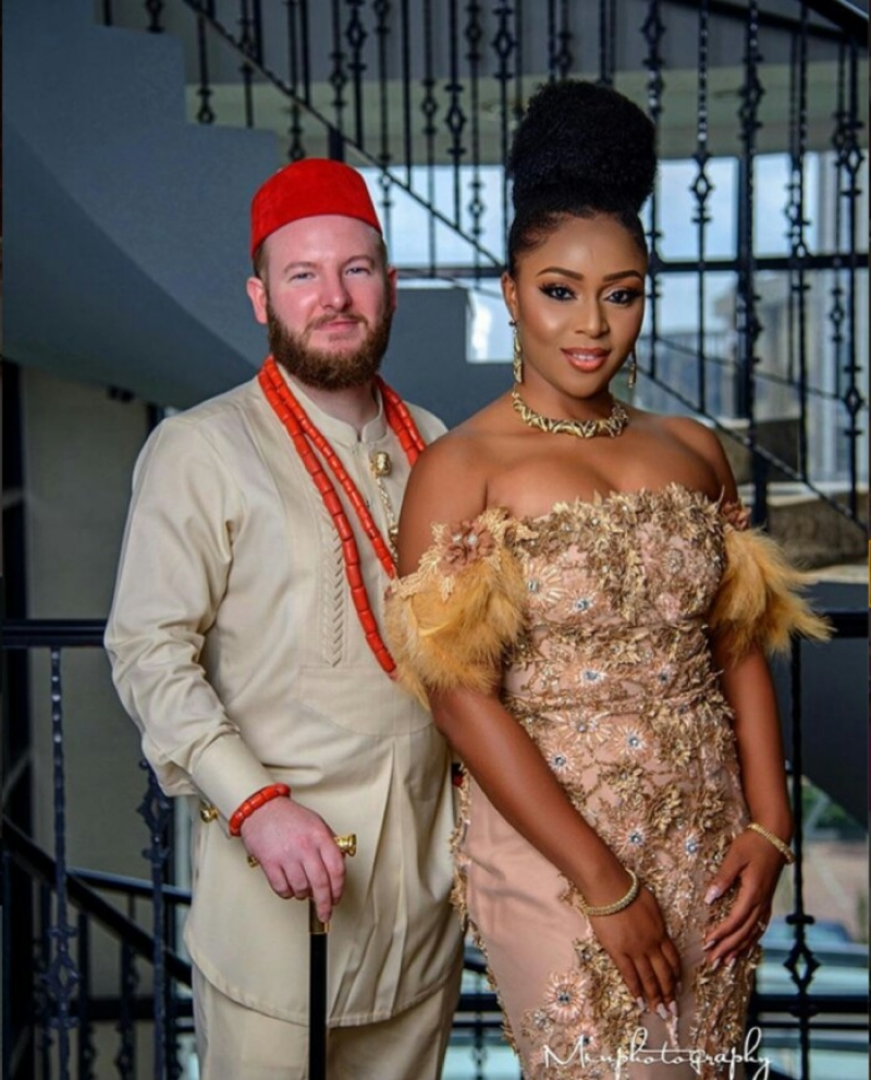 Pre wedding photos of intending interracial couple-4