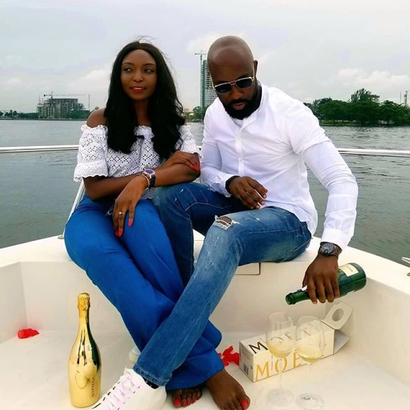 Igbo man proposes to his yoruba girlfriend on a boat cruise-2