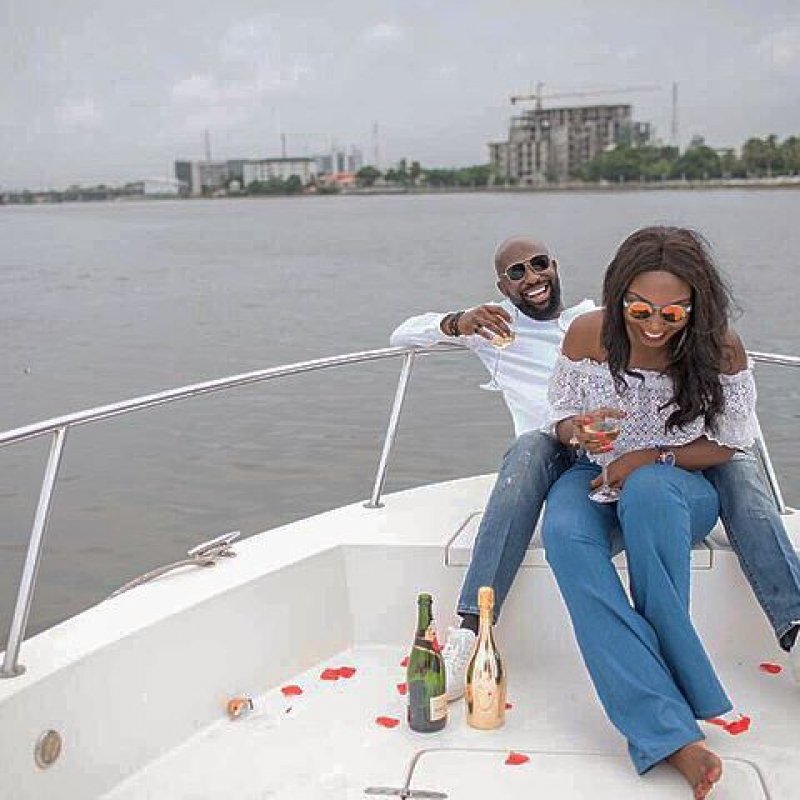 Igbo man proposes to his yoruba girlfriend on a boat cruise-3
