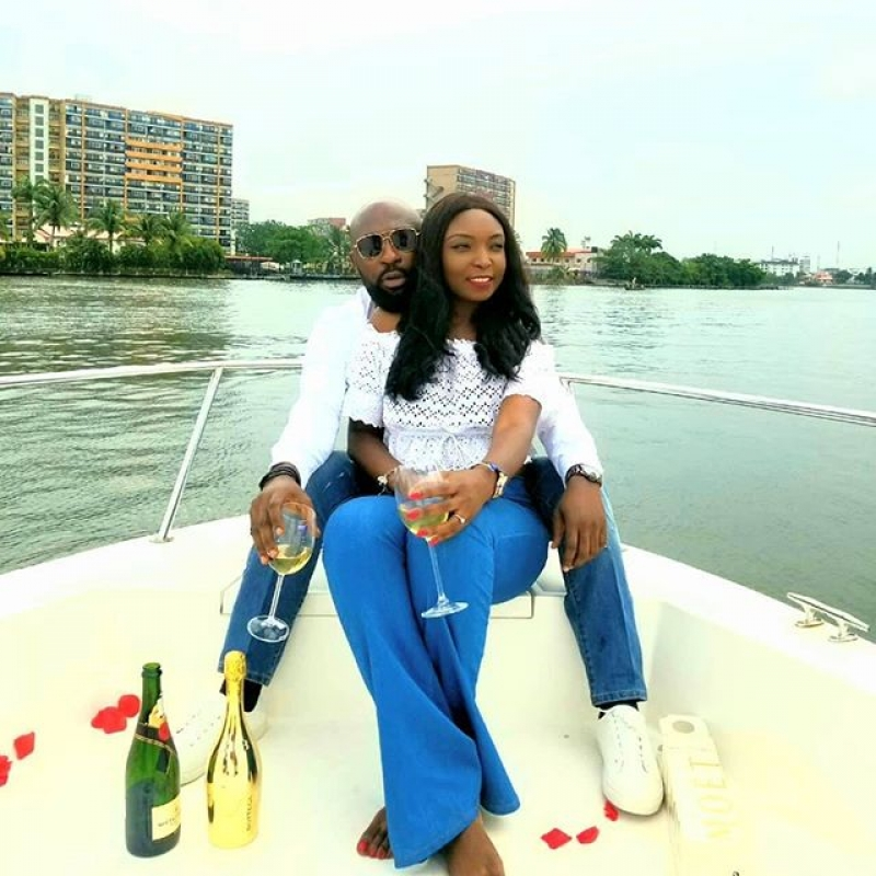 Igbo man proposes to his yoruba girlfriend on a boat cruise-6