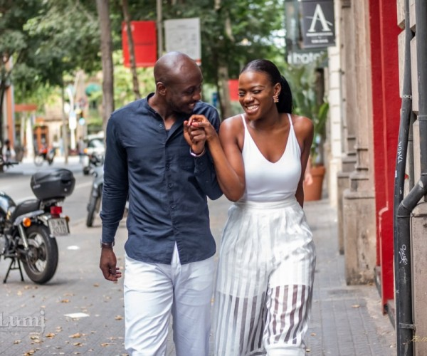 Tomi And Lekan Pre-Wedding Photoshoot In Barcelona, Spain