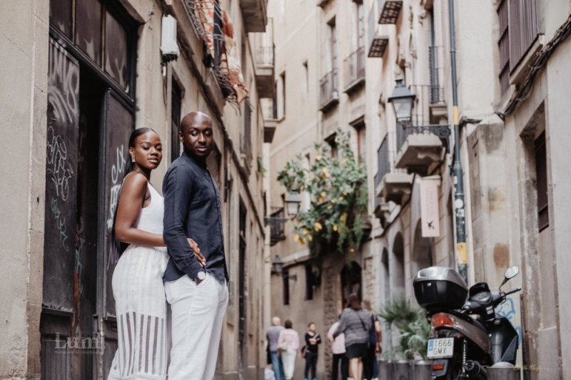 Tomi and lekan pre-wedding photoshoot in barcelona spain-5