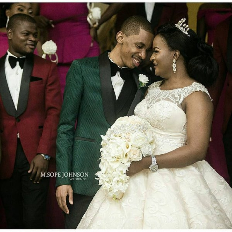 White wedding photos of dj consequences and yemisi williams-3