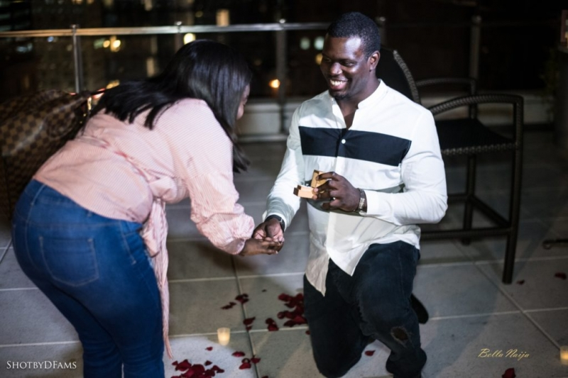 Ladapo proposes to his girlfriend eniola at the rooftop-3