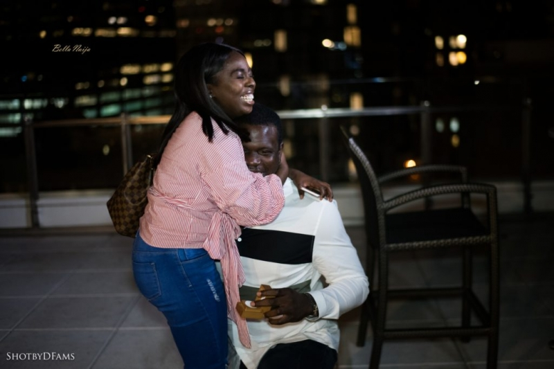 Ladapo proposes to his girlfriend eniola at the rooftop-4