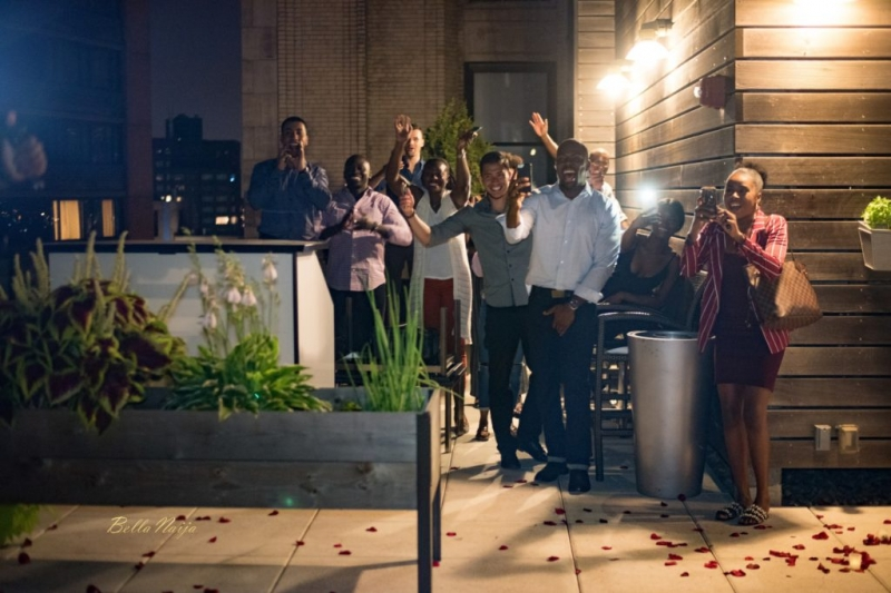 Ladapo proposes to his girlfriend eniola at the rooftop-5