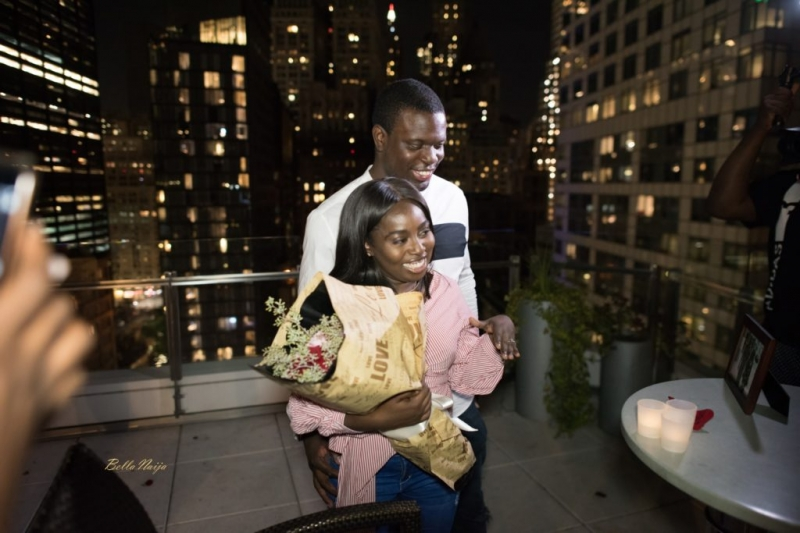 Ladapo proposes to his girlfriend eniola at the rooftop-6