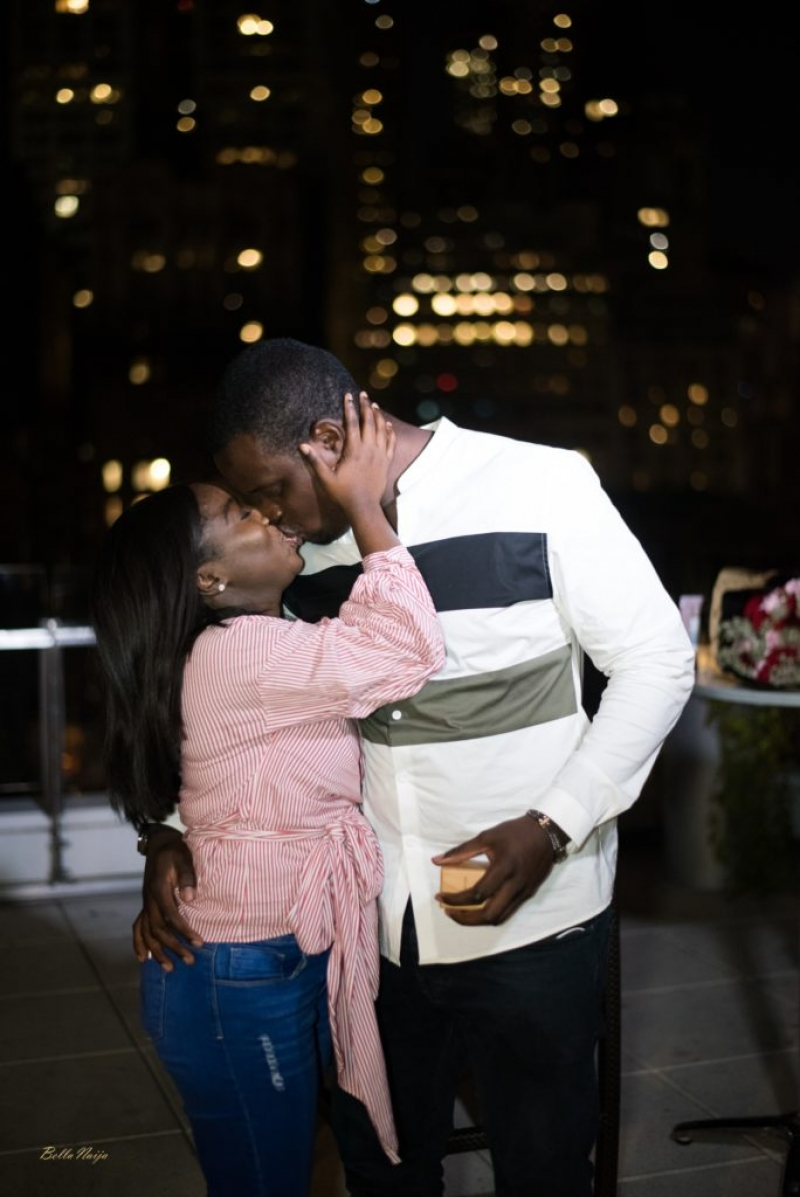 Ladapo proposes to his girlfriend eniola at the rooftop-7