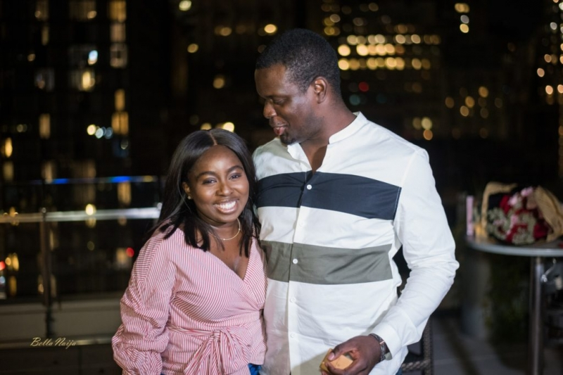 Ladapo proposes to his girlfriend eniola at the rooftop-8