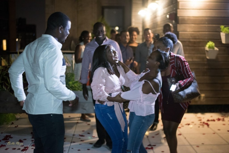 Ladapo proposes to his girlfriend eniola at the rooftop-9