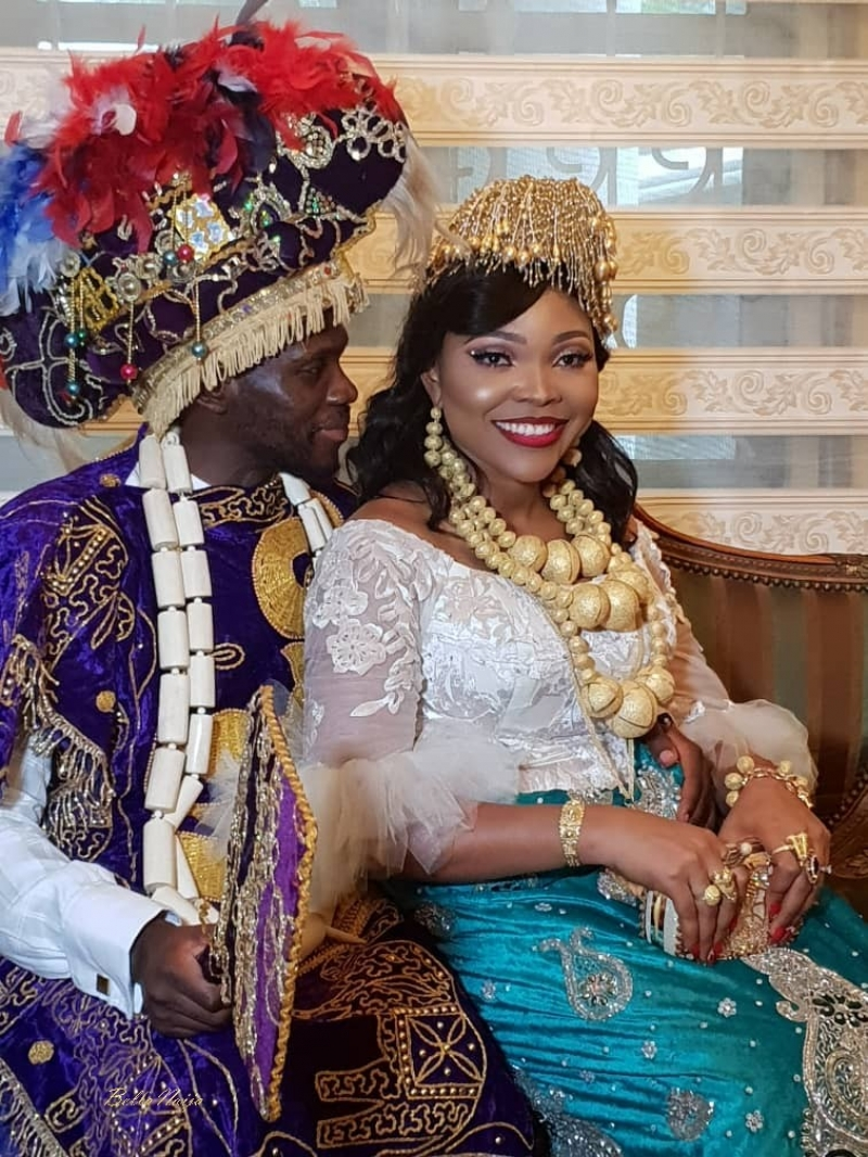 Pictures from the traditional ceremony of boma and olusoji-2