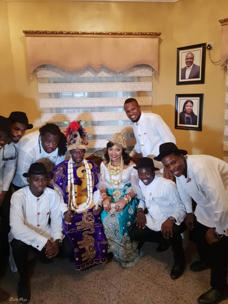 Pictures from the traditional ceremony of boma and olusoji-3