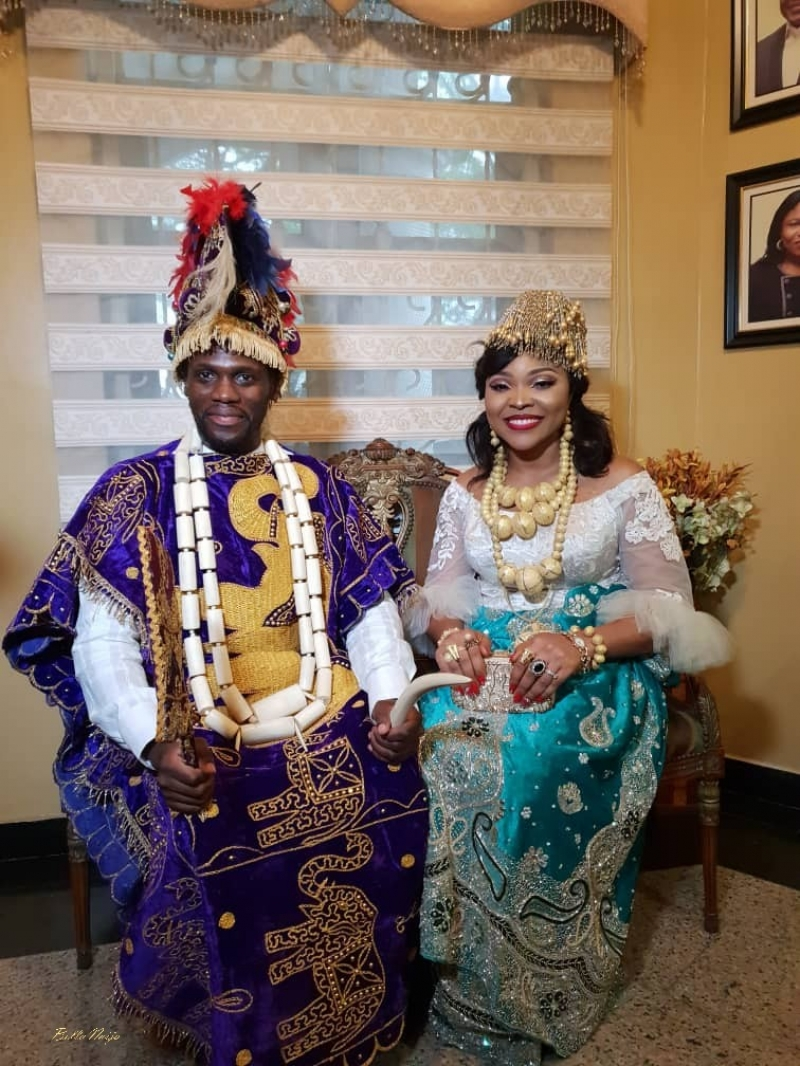 Pictures from the traditional ceremony of boma and olusoji