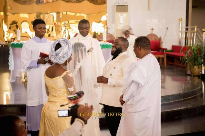 Photos from the white wedding ceremony of peluola and etomi-5
