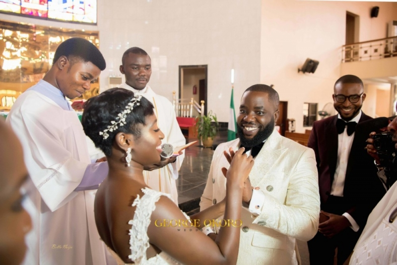Photos from the white wedding ceremony of peluola and etomi-8