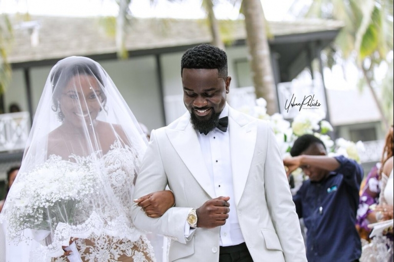 More wedding photos of sarkodie and tracy-2