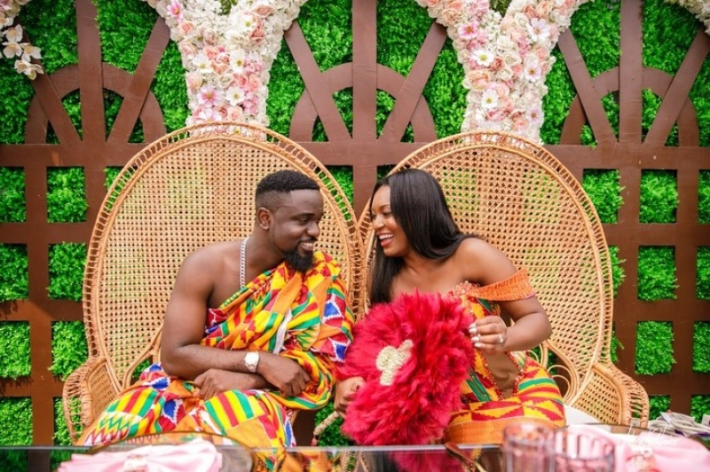 More wedding photos of sarkodie and tracy-4
