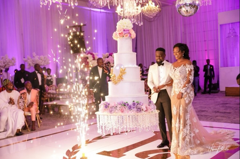 More wedding photos of sarkodie and tracy