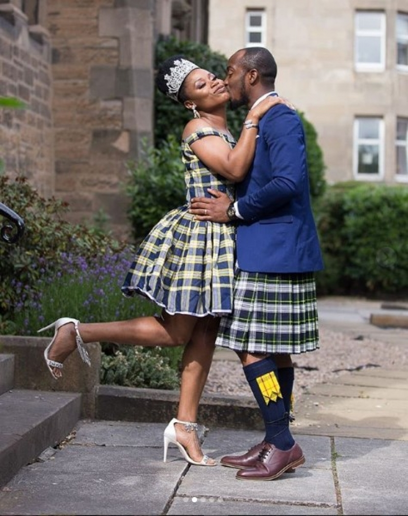 Scottish inspired wedding of a nigerian couple-2