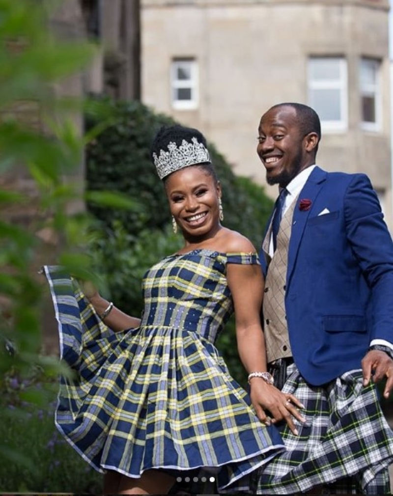 Scottish inspired wedding of a nigerian couple-3