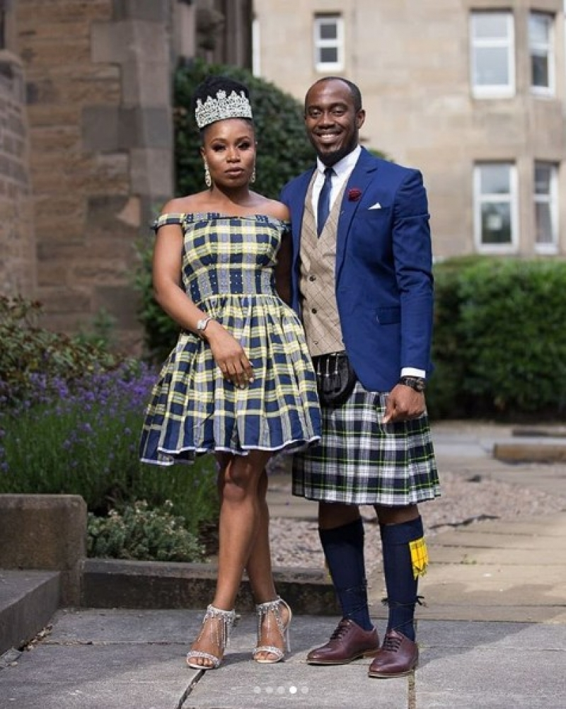Scottish inspired wedding of a nigerian couple-4
