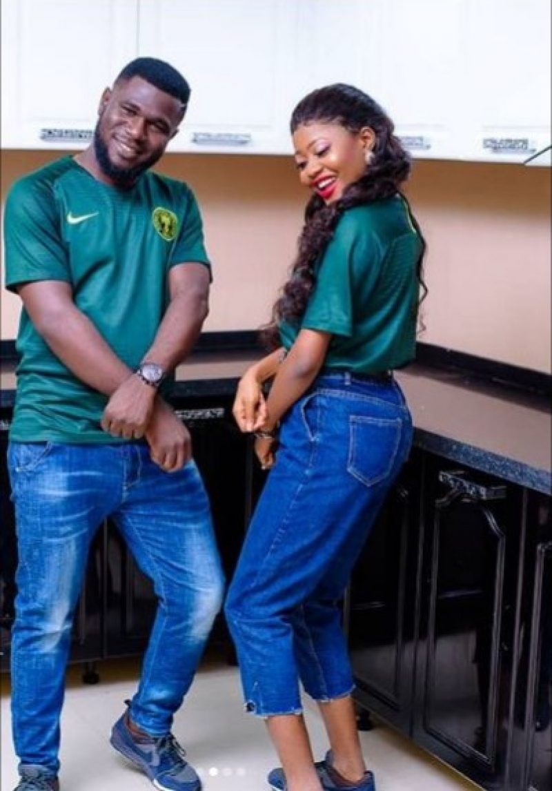 Joyful partner in shaku shaku themed pre-wedding photos-6