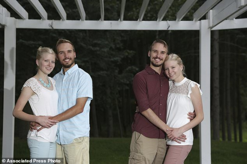 Twin brothers set to wed twin sisters
