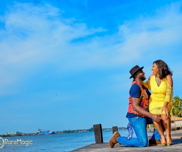 Colorful Pre-Wedding Photoshoot Of Terry And Chidube