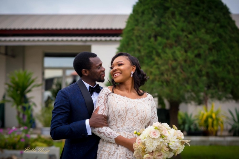 Photos from the charming white wedding of boma and olusoji-2
