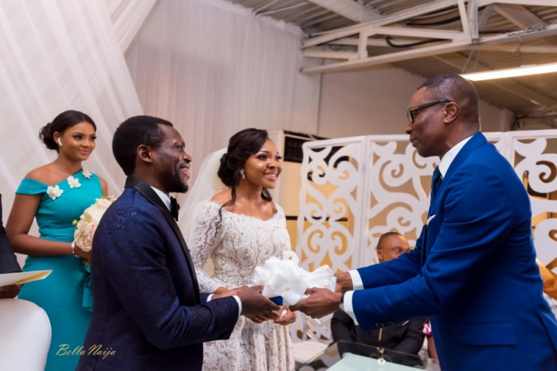 Photos from the charming white wedding of boma and olusoji-6