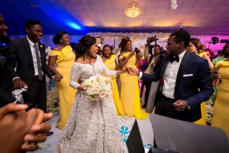 Photos from the charming white wedding of boma and olusoji-7