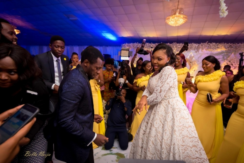 Photos from the charming white wedding of boma and olusoji-8