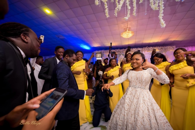 Photos from the charming white wedding of boma and olusoji-9