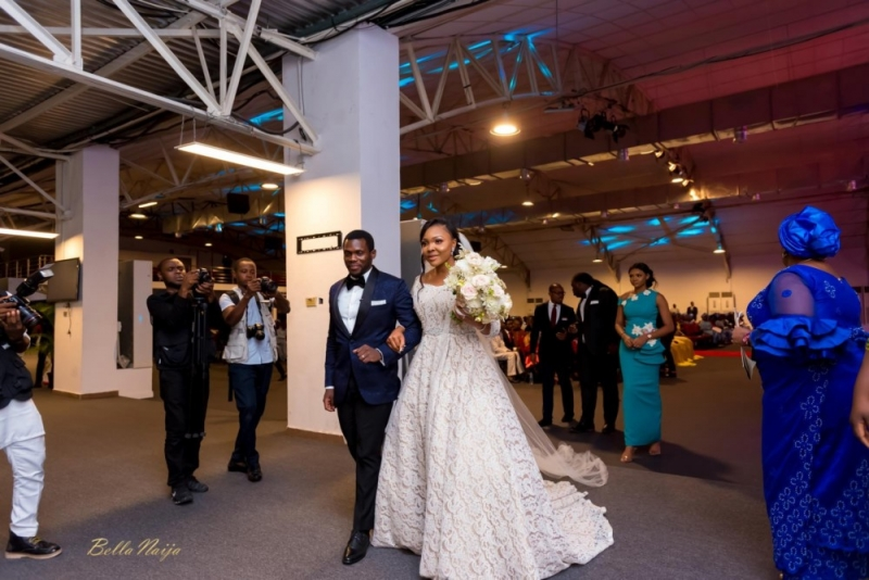 Photos from the charming white wedding of boma and olusoji