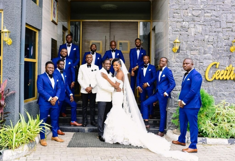 White wedding photos of demola and folake-6