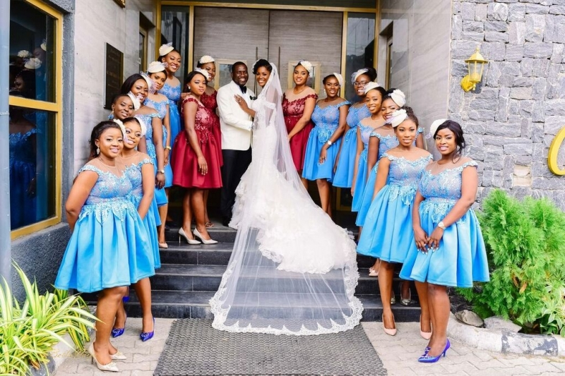 White wedding photos of demola and folake-7